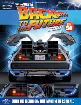 Back to the Future Build the Delorean issue 50