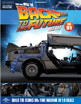 Back to the Future Build the Delorean issue 51