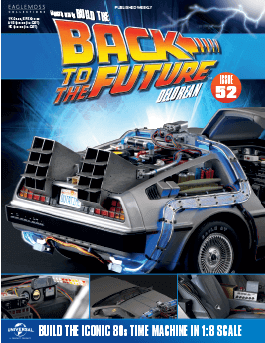 Back to the Future Build the Delorean issue 52