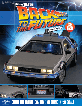 Back to the Future Build the DeLorean issue 63