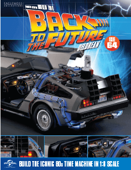 Back to the Future Build the DeLorean issue 64