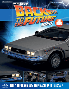 Back to the Future Build the DeLorean issue 66