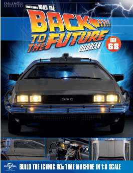 Back to the Future Build the DeLorean issue 68