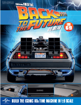 Back to the Future Build the DeLorean issue 69
