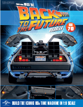 Back to the Future Build the Delorean issue 70