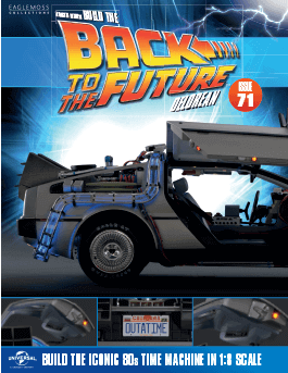 Back to the Future Build the Delorean issue 71