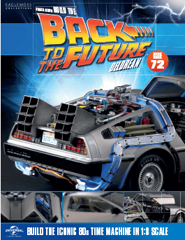 Back to the Future Build the Delorean issue 72