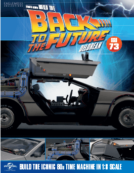 Back to the Future Build the Delorean issue 73