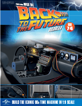 Back to the Future Build the Delorean issue 74