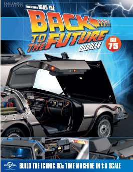 Back to the Future Build the Delorean issue 75