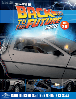 Back to the Future Build the Delorean issue 76