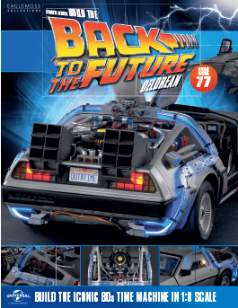 Back to the Future Build the Delorean issue 77
