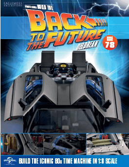 Back to the Future Build the Delorean issue 78