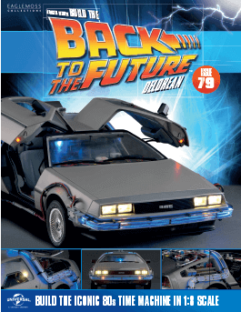 Back to the Future Build the Delorean issue 79