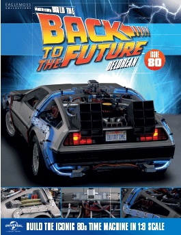 Back to the Future Build the Delorean issue 80