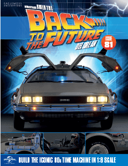 Back to the Future Build the Delorean issue 81