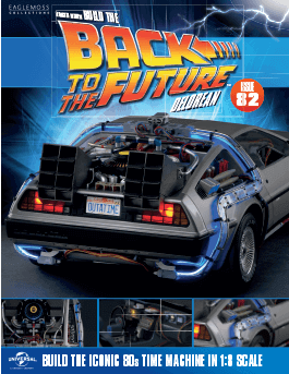 Back to the Future Build the Delorean issue 82