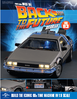 Back to the Future Build the Delorean issue 83