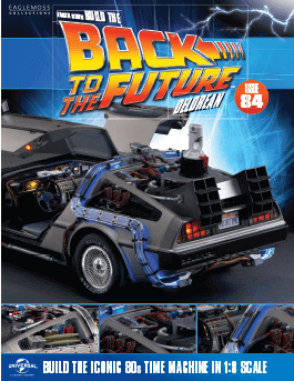 Back to the Future Build the Delorean issue 84