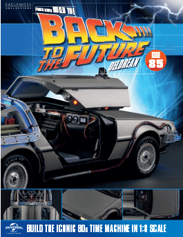 Back to the Future Build the Delorean issue 85