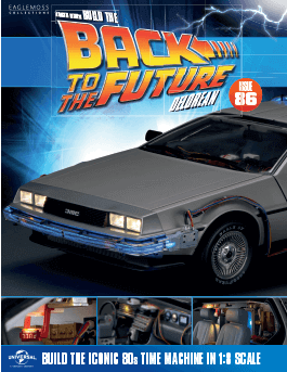 Back to the Future Build the Delorean issue 86