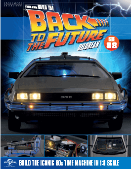 Back to the Future Build the Delorean issue 88