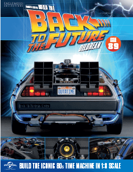 Back to the Future Build the Delorean issue 89