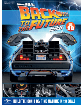 Back to the Future Build the Delorean issue 90