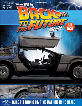 Back to the Future Build the Delorean issue 53