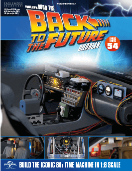Back to the Future Build the Delorean issue 54