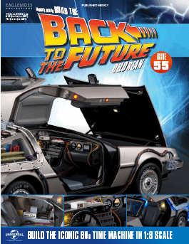 Back to the Future Build the Delorean issue 55