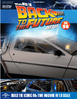 Back to the Future Build the Delorean issue 56