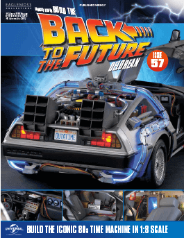 Back to the Future Build the Delorean issue 57