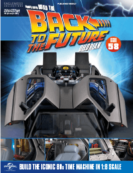 Back to the Future Build the Delorean issue 58