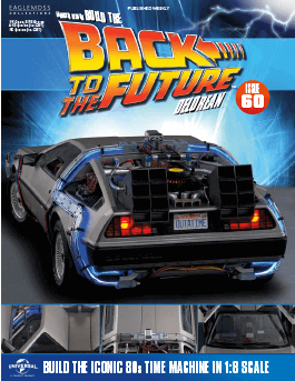 Back to the Future Build the Delorean issue 60