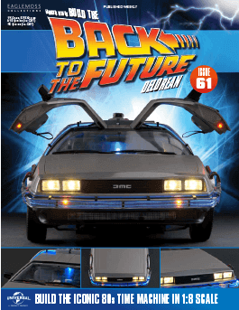 Back to the Future Build the Delorean issue 61