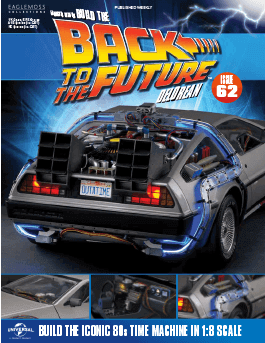 Back to the Future Build the Delorean issue 62