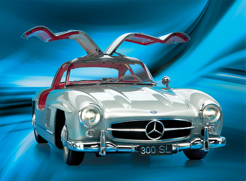 Mercedes Gullwing Banner Desktop