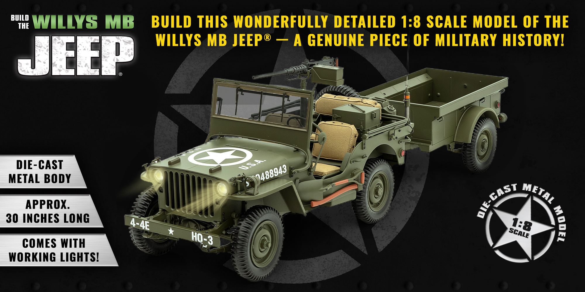 Jeep Willys Banner