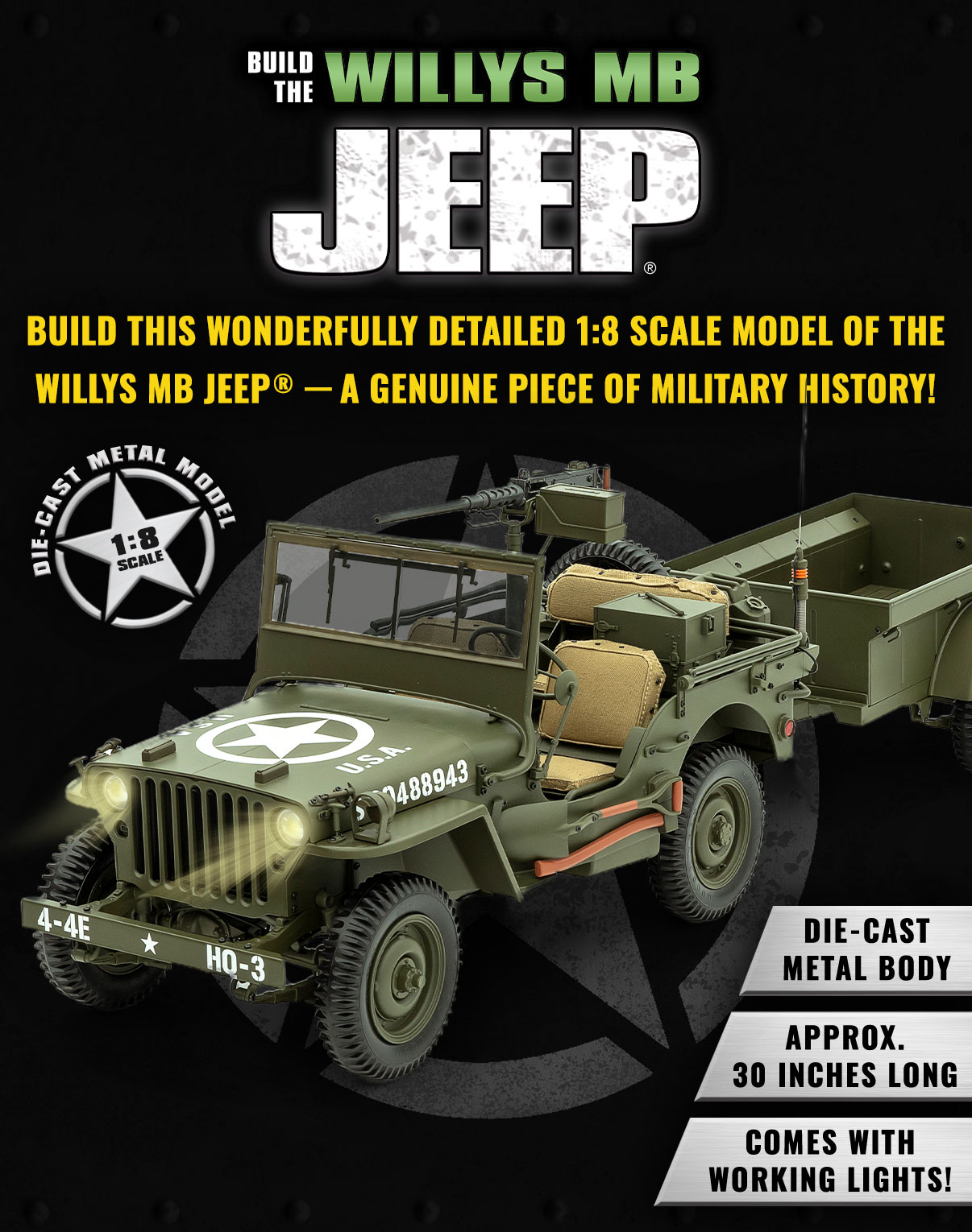 Jeep Willys Banner Mobile