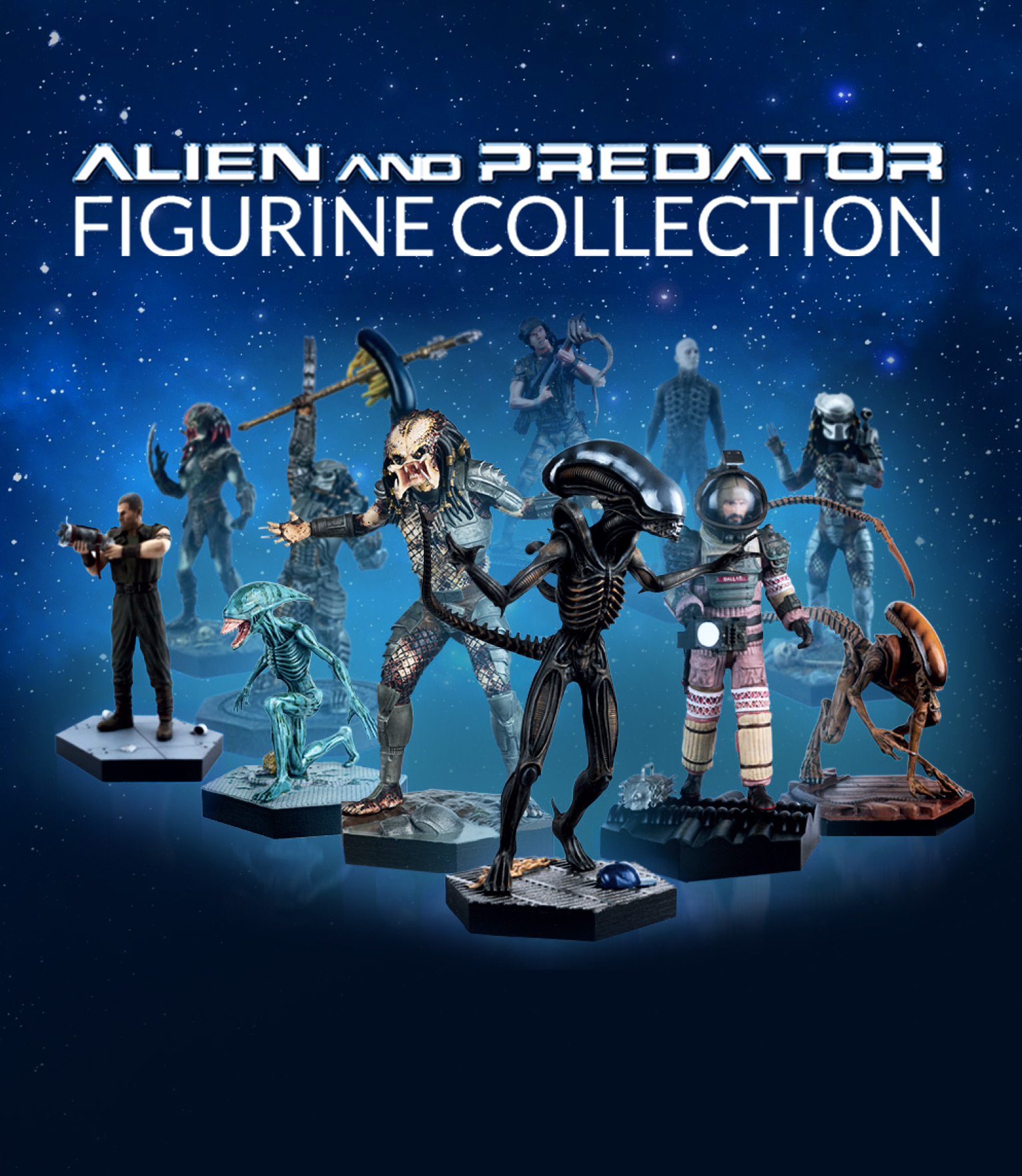 Alien and Predator Figurine Collection