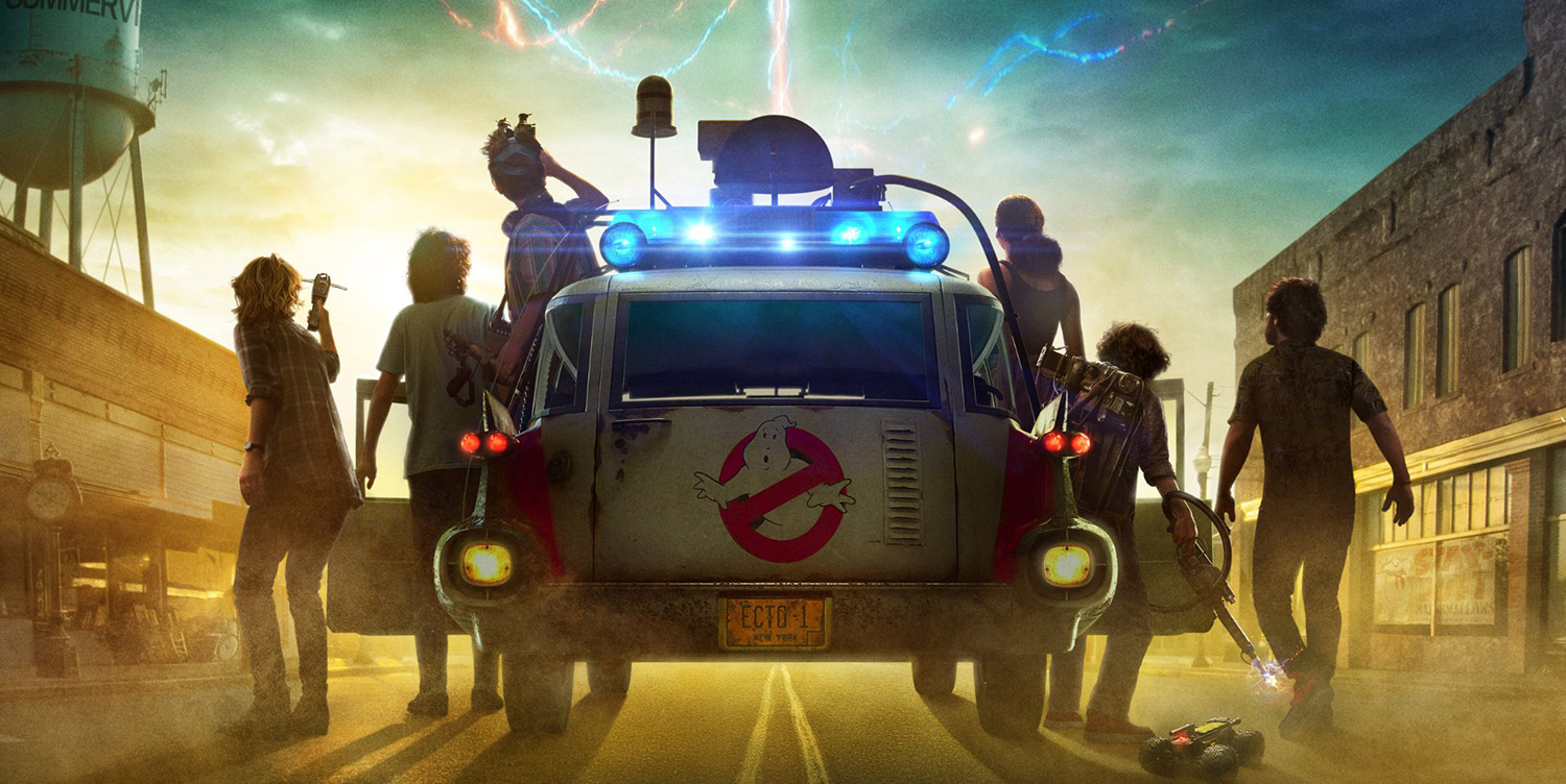 GHOSTBUSTERS: AFTERLIFE NEW POSTERS
