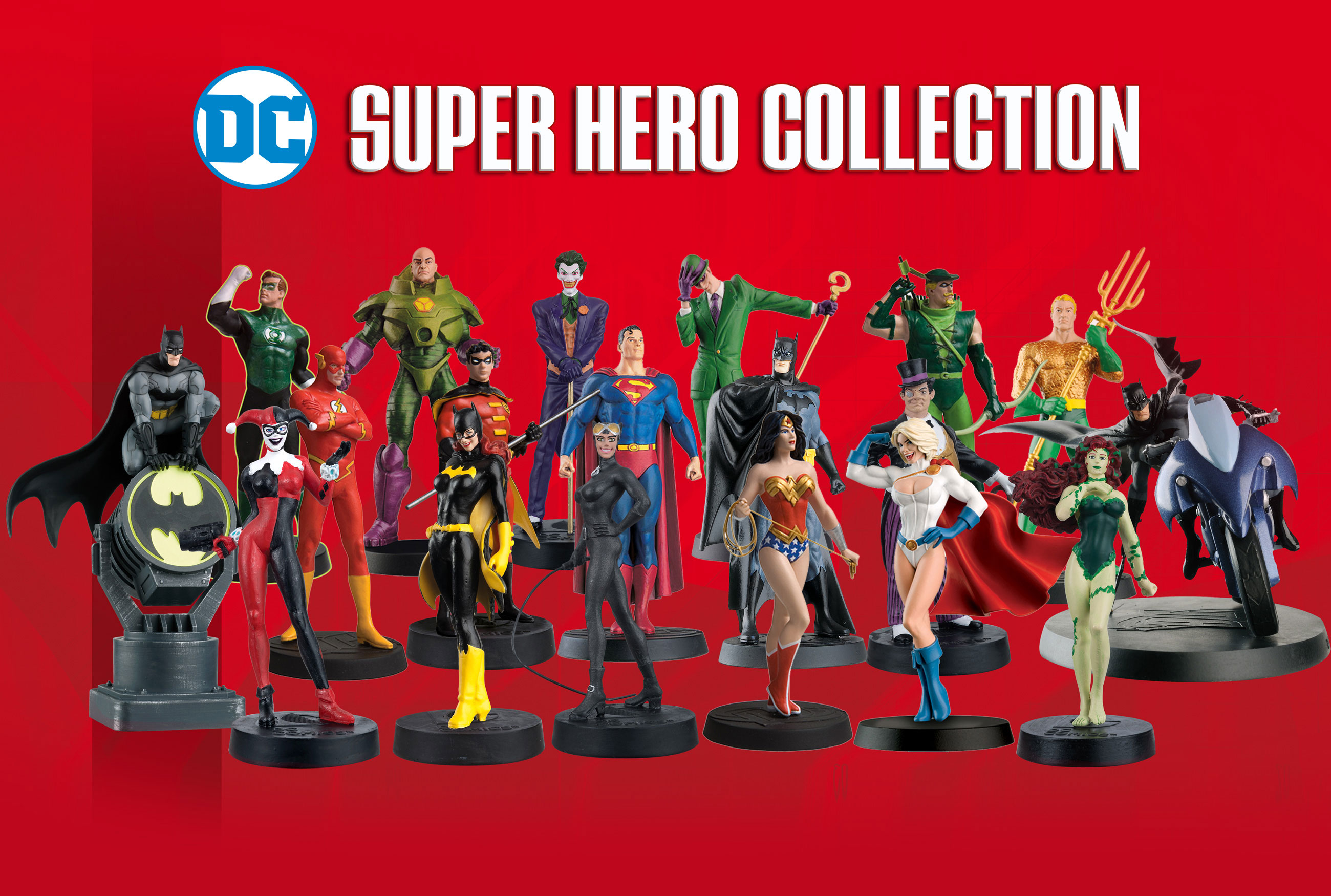 DC Superhero figurines