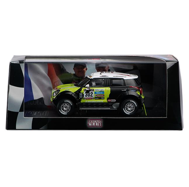 Modello pressofuso di Mini All4 Racing WRC (2013)
