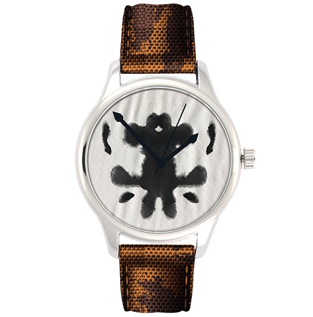 Rorschach Watchmen Watch (DC Comics Movie Logo Series)