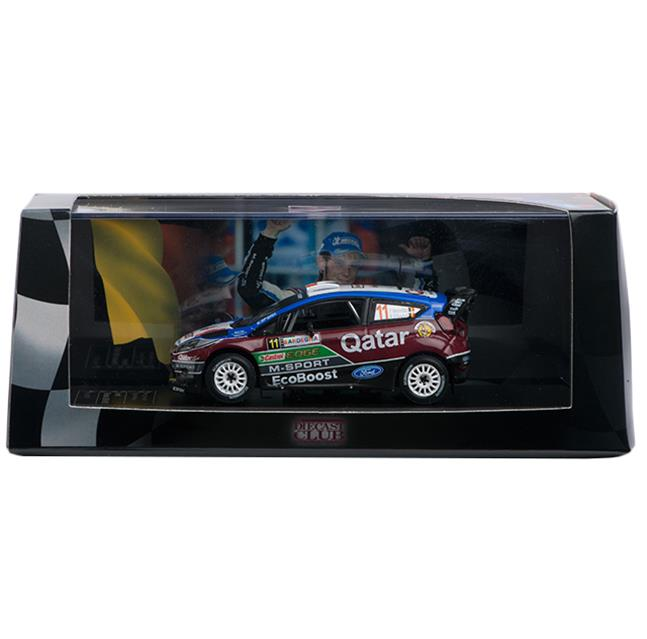 Ford Fiesta RS WRC Die-cast Model 11 (2013)