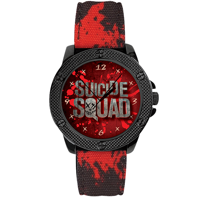 Suicide Squad Watch (DC Comics Movie logo series)