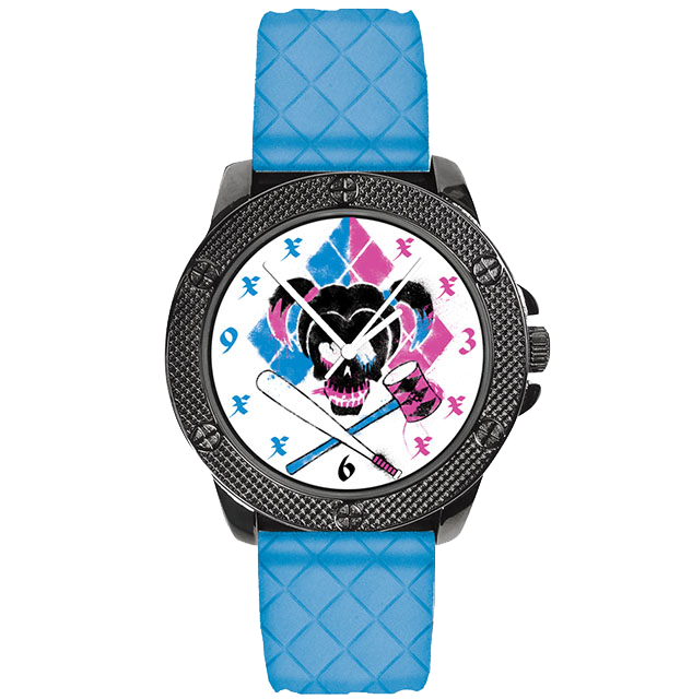 Harley Quinn Suicide Squad Watch (DC Comics Movie Logo Series)