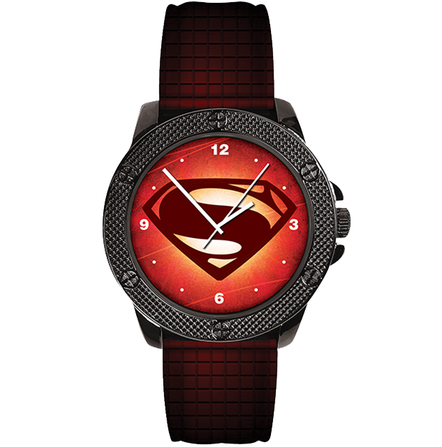 Superman Logo Watch (DC Comics Movie Logo Series)