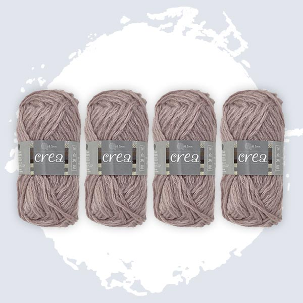 CreaCrafts Yarn Antique Claystone Pack of 4